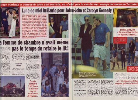 John Kennedy Jr. John Kennedy, Jr. and Carolyn Bessette-Kennedy