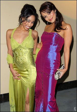 Davetta Sherwood  and Marisa Ramirez