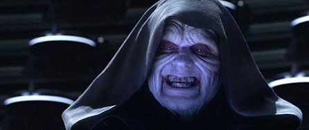 Ian McDiarmid  as Palpatine in 20th Century Fox's Star Wars: Episode III - Revenge of the Sith - 2005