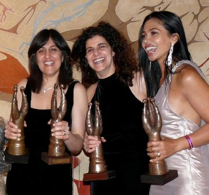 Natalie Becker Shamim Sarif, Hanan Kattan and  on SAFTA AWARD 2009