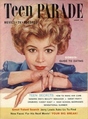 Sandra Dee, Teen Parade August 1960