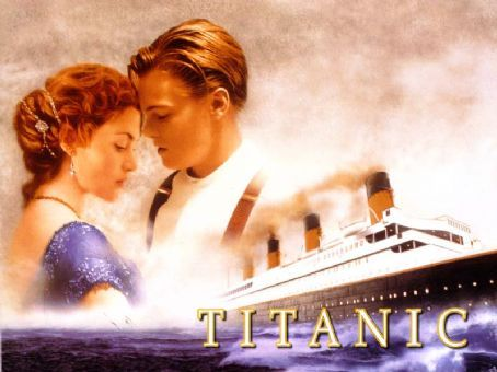 Titanic Leonardo DiCaprio and Kate Winslet