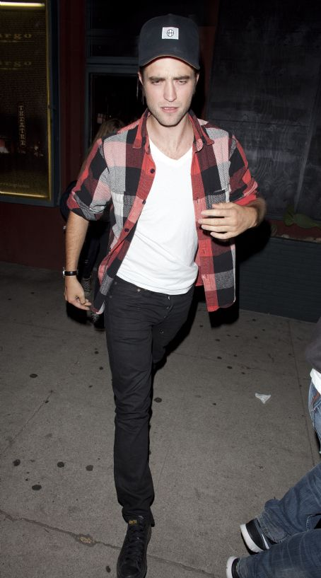 Robert Pattinson goeas Plaid for Jenny Lewis Concert