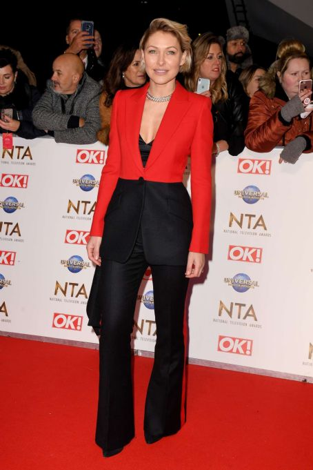 Emma Willis – National Television Awards 2020 in London
