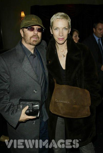 David Stewart and Annie Lennox