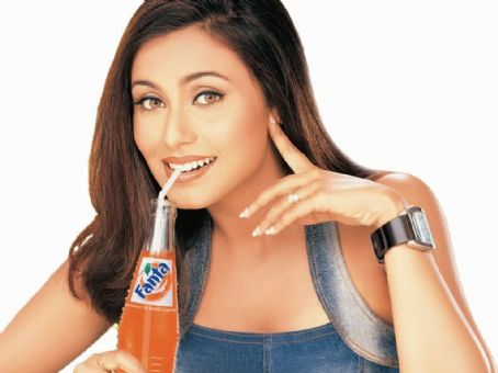Rani Mukerji - Pictures of Rani Mukherjee for Fanta and Other Commercial