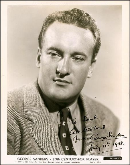 George Sanders - Beautiful HD Wallpapers