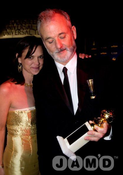 Bill Murray  and Jennifer Murray
