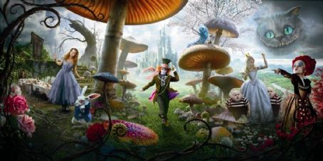 Matt Lucas image from Walt Disney Pictures' ALICE IN WONDERLAND.