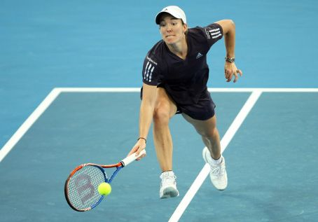 Justine Henin - Brisbane International 2010 - Day 5