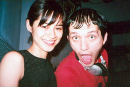 Brian Molko  and Helena Berg