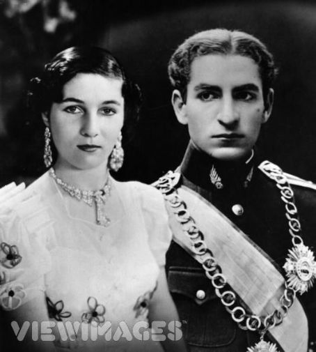Shah Mohammad Reza Pahlavi Shah Pahlavi and Princess Fawzia of Egypt