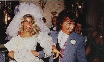 Bill Wyman and Mandy Smith Bill Wyman's wedding to Mandy Smith