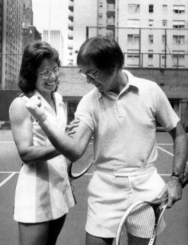 Billie Jean King The Battle Of The Sexes