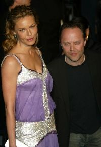 Lars Ulrich Connie Nielsen and