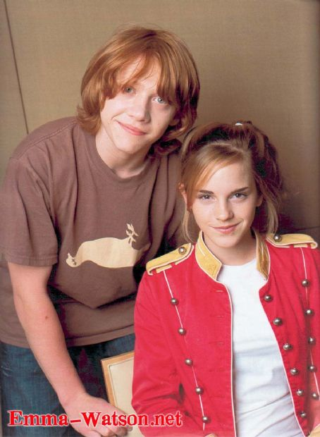 Harry Potter and the Deathly Hallows: Part 1 Rupert Grint and Emma Watson
