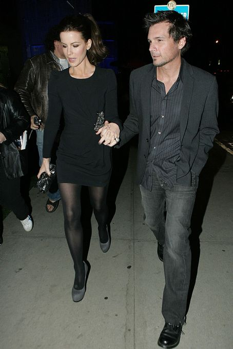 Kate Beckinsale And Len Wiseman Go To BOA Steakhouse, November 16 2009