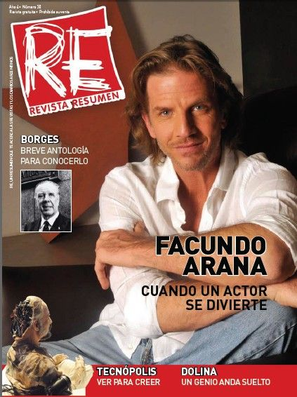 Facundo Arana - Resumen Magazine Cover [Argentina] (September 2011)