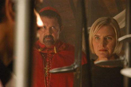Kane Hodder  ('Asmodeus,' left) and Denise Crosby ('Catherine,' right) star in Lionsgate Home Entertainment's Born.