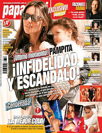 Carolina Ardohain - Paparazzi Magazine Cover [Argentina] (18 September 2008)