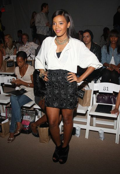Angela Simmons TONYCOHEN - Front Row - Spring 2010 MBFW