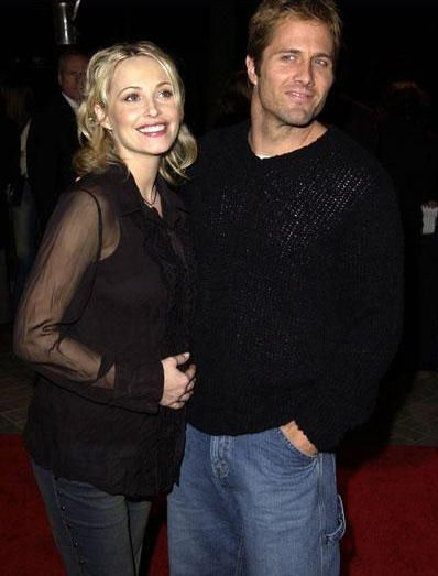 Josie Bissett  and Rob Estes