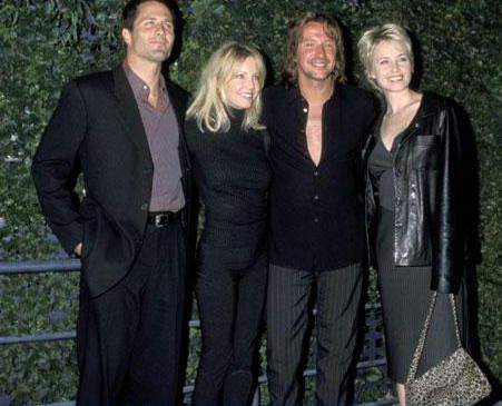 Josie Bissett Rob Estes, Heather Locklear, Richie Sambora and