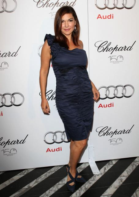 Laura Harring - Audi/Chopard EMMY Week Red Carpet Style Kick-off Party Held At Cecconi's Restaurant On August 22, 2010 In Los Angeles, California