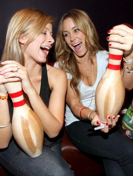 Lo Bosworth Lauren Bosworth and Lauren Conrad