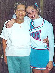 Kellie Pickler  - 1995, with her Grandmother
