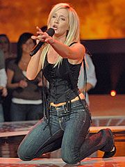 Kellie Pickler  - Jan 17, 2006, Competing on American Idol