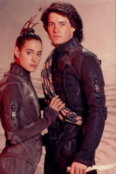 Sean Young Kyle MacLachlan and  in Dune (1984)