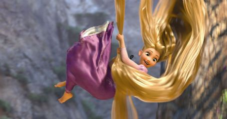 Rapunzel  (voiced by Mandy Moore) stars in Walt Disney Pictures' Tangled.