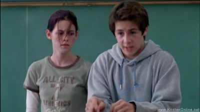 Kristen Stewart  and Michael Angarano