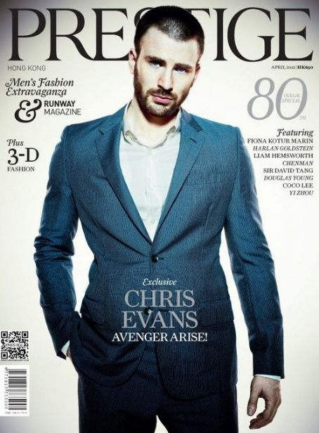Chris Evans - Prestige Magazine Cover [Hong Kong] (April 2012)