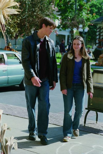 Gilmore Girls - Jared Padalecki and Alexis Bledel