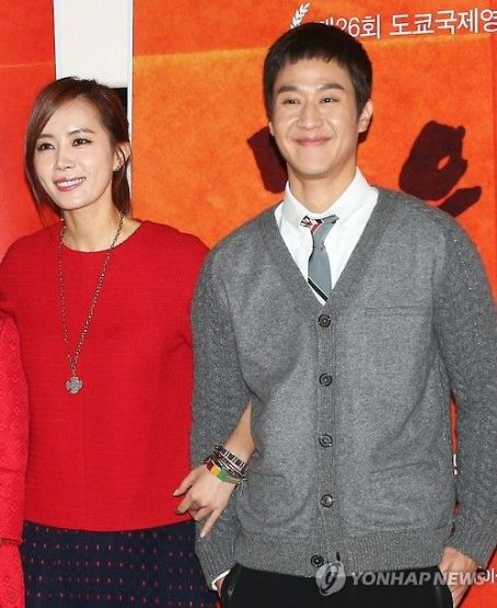 Jung Woo and Yoo-mi Kim
