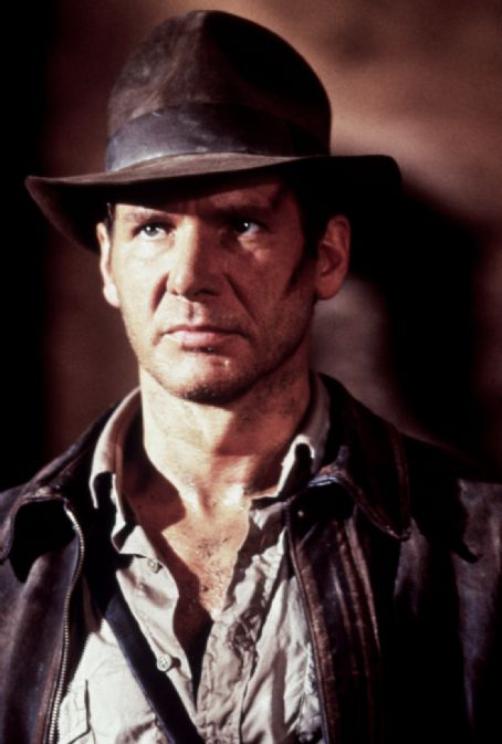 Indiana Jones Harrison Ford in Raiders of The Lost Ark (1981)