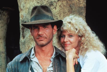 Indiana Jones Harrison Ford and Kate Capshaw in  and The Temple of Doom (1984)
