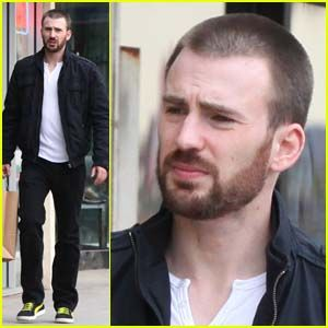 Chris Evans: Out Shopping!