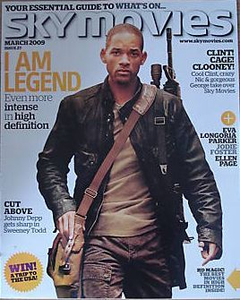 Will Smith - Sky Movies Magazine [United Kingdom] (March 2009)