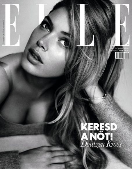 Doutzen Kroes - Elle Magazine [Hungary] (December 2010)
