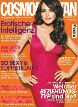 Lindsay Lohan - Cosmopolitan Magazine [Germany] (September 2006)