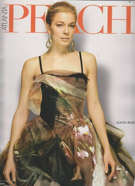 LeAnn Rimes - Atlanta Peach Magazine Cover [United States] (March 2008)
