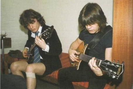 Malcolm Young Malcolm & Angus