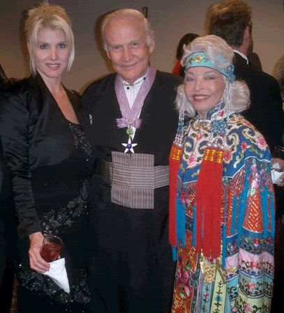 Buzz Aldrin Sheila Lussier, Mr. & Mrs.