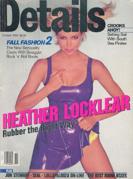 Heather Locklear - Details Magazine Cover [United States] (October 1994)