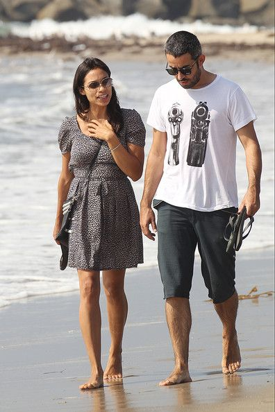Rosario Dawson And Mathieu Schreyer In Santa Monica