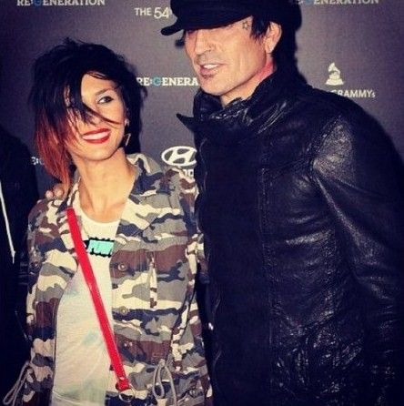 Tommy Lee and Sofia Toufa
