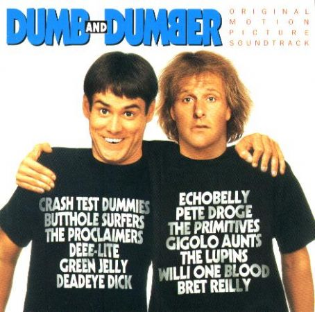 Jeff Daniels Dumb and Dumber Soundtrack Poster (1994)